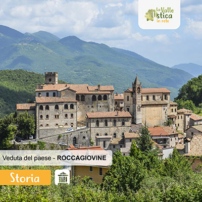 post roccagiovine valle ustica